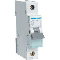 Hager MCB Wyłącznik nadprądowy Icn=6000A 1P C 20A MCN120E