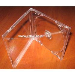 Pudełko plastikowe na 1CD przezroczyste High Quality 100szt.