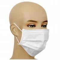 Maseczki i przyłbice ochronne, Maska ochronna wielorazowa - trójwarstwowa z certyfikatem 10szt. + płyn do dezynfekcji zestaw