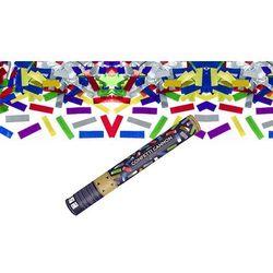 Tuba strzelająca - konfetti metaliczne - 40 cm - 1 szt.