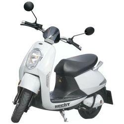 HECHT GRACE WHITE SKUTER ELEKTRYCZNY AKUMULATOROWY E-SKUTER MOTOR MOTOCROSS MOTOREK MOTOCYKL - OFICJALNY DYSTRYBUTOR - AUTORYZOWANY DEALER HECHT promocja (--3%)