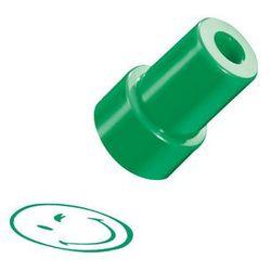 Stempel Smiley.World, zielony, uśmiech, HERLITZ - zielony