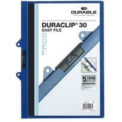 DURACLIP Original 30, skoroszyt zaciskowy A4, 1-30 kart. z wkładką do wpięcia