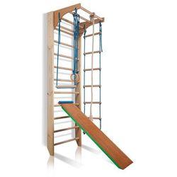 Drabinka gimnastyczna dla dzieci ZESTAW inSPORTline Kombi 3 - 240 cm