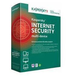 Oprogramowanie antywirusowe Kaspersky Internet Security Multi-Device 1Y upg produkt cyfrowy ESD 5D - KL1941PCEFR- Zamów do 16:00, wysyłka kurierem tego samego dnia!