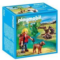 Klocki dla dzieci, Playmobil WILD LIFE Drzewo z bobrami i przyrodnikiem 5562 - BEZPŁATNY ODBIÓR: WROCŁAW!
