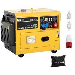 Agregat prądotwórczy diesel - 4,4 kW - 230 V - 400 V