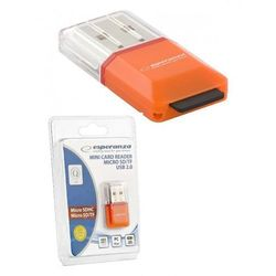 Czytnik kart pamięci micro-SD Esperanza EA134O, USB 2.0, micro-SDHC, micro-SD, TF
