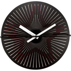 NeXtime - Zegar ścienny Kinegram Star - czerwony