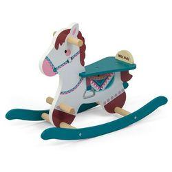 Koń na biegunach Lucky 18 Blue