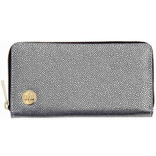 Portfele i portmonetki, portfel MI-PAC - Zip Purse Glitter Silver (S48) rozmiar: OS