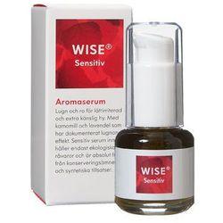 Ekologiczne Serum do skóry wrażliwej, z egzemą, AZS, stanami zapalnymi WISE Aroma Serum Sensitiv 15ml