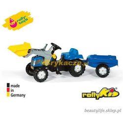 Rolly Toys Traktor Kid New Holland Łyżka Przyczep