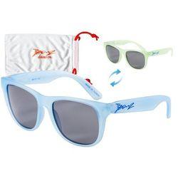 Okulary przeciwsłoneczne dzieci 4-10lat kameleon BANZ - Blue to Green