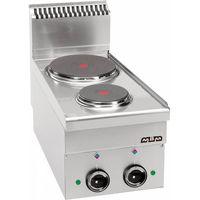 Piece i płyty grzejne gastronomiczne, Kuchnia elektryczna stołowa MBM600 2-płytowa