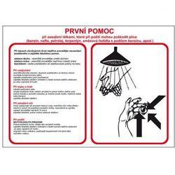 Pierwsza pomoc w przypadku kontaktu z substancjami które po spożyciu mogą uszkodzić płuca (benzyna, nafta, olej napędowy, terpentyna, mieszanina rozpu