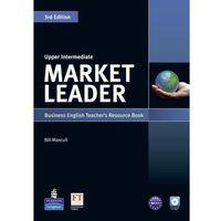 Książki do nauki języka, Market Leader Upper Intermediate. Książka Nauczyciela + CD (opr. miękka)