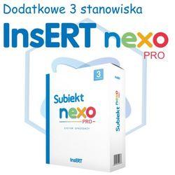 InsERT Subiekt Nexo PRO - rozszerzenie na dodatkowe 3 stanowiska