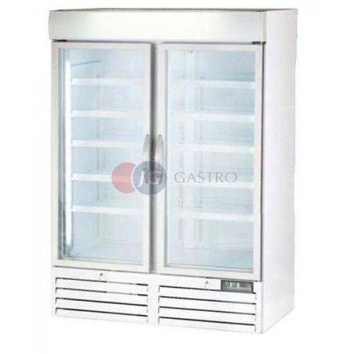 Szafy i witryny chłodnicze, Szafa mroźnicza 2-drzwiowa przeszklona 1078 l Stalgast 850021