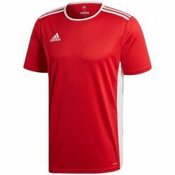 adidas uniseks koszulka dziecięca Entrada 18 Power Red/White 164