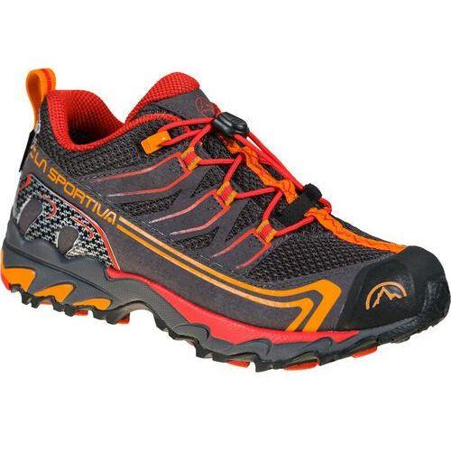 Trekking, La Sportiva Falkon Low GTX Shoes Kids, carbon/cherry EU 29 2021 Buty turystyczne