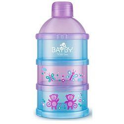 Pudełko na mleko BAYBY BBA 6409 Fioletowo-niebieski