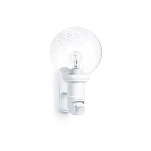 Lampy ścienne, STEINEL L 560 B - lampa z czujnikiem ruchu i zmierzchu biała 634315