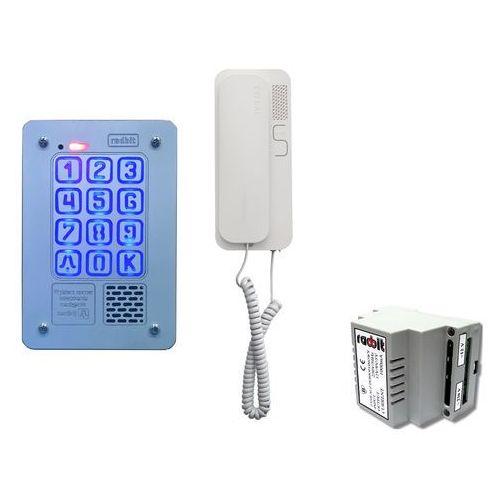 Domofony i wideodomofony, Zestaw jednorodzinny Radbit Cyfrowy panel domofonowy KEC-4 PT MINI GD36
