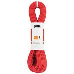Petzl Rumba Lina 8mm x 50m, red 2020 Liny połówkowe