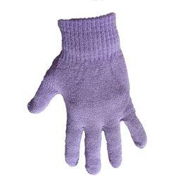 1 Kiddy rękawiczki 5-palczaste jednokolorowe fioletowe
