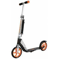 Hulajnoga HUDORA Big Wheel 205 czarno-pomarańczowa 100kg XXL SKŁADANA