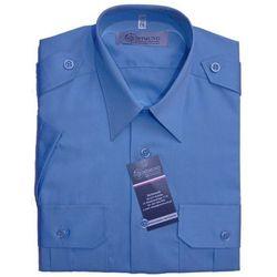 Koszula niebieska Służby Więziennej - krótki rękaw - damska