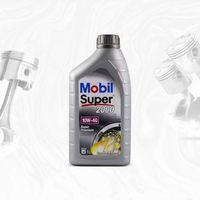 Oleje silnikowe, MOBIL SUPER 2000 X1 10W40 SL/CF, A3/B3, VW 501.01/505.00, MB229.1 - 1L