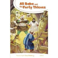 Książki do nauki języka, PESR Ali Baba and the Forty Thieves Pearson English Story Readers (9-11 lat)