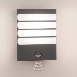 LED-lampa zewnętrzna Raccon, zaw. czujnik ruchu