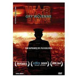 Gry wojenne (DVD) - Dariusz Jabłoński OD 24,99zł DARMOWA DOSTAWA KIOSK RUCHU