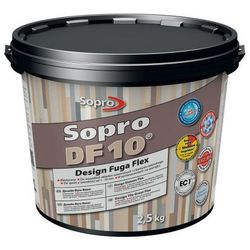 Fuga szeroka Sopro Flex DF10 Design 14 beton szary 2 5 kg