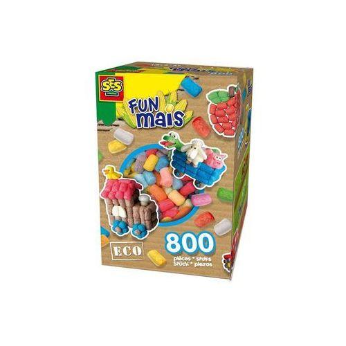 Kreatywne dla dzieci, FunMais - mix kolorów podstawowych 800 szt