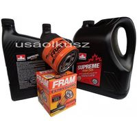 Oleje silnikowe, Olej 5W30 oraz filtr oleju silnika Pontiac Firebird 5,7 1998-2002