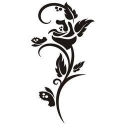 Jedyna taka!:) Złota naklejka dekoracyjna flora 300 rozm. XXL - 50%