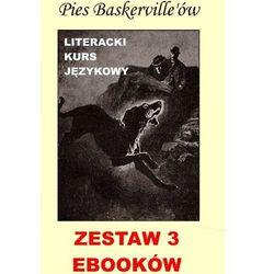3 ebooki: Pies Baskerville'ów z angielskim. Literacki kurs językowy