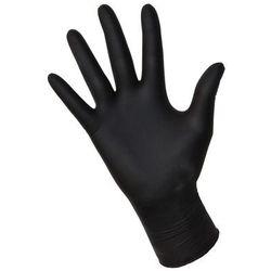 """Rękawice nitrylowe NITRYLEX black """"M"""" 100szt."""
