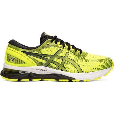 asics Gel Nimbus 21 Buty Mężczyźni, safety yellowblack US 8 | EU 41,5 2019 Szosowe buty do biegania, kolor żółty