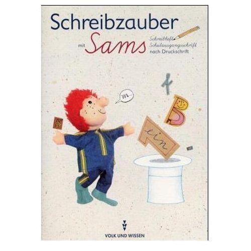 Pozostałe książki, Schreibzauber mit Sams, Schreibheft Schulausgangsschrift nach Druckschrift Dammenhayn, Heidemarie