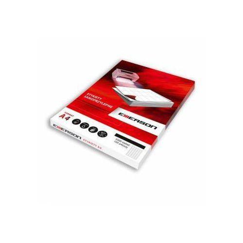 Etykiety biurowe, Etykiety 105 X 48,0 mm, 12 szt/A4 EMERSON uniwersalne (G) - X06639