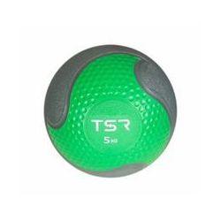 TSR Piłka lekarska kauczukowa- Zielony, 5 kg - Zielony \ 5 kg