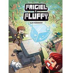 Frigiel i fluffy t.3 blok pierworodny - j-c. derrien & frigiel (opr. broszurowa)
