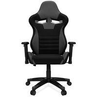 Fotele dla graczy, Fotel gamingowy AGURI+ szary Materiał PRO-GAMER dla graczy