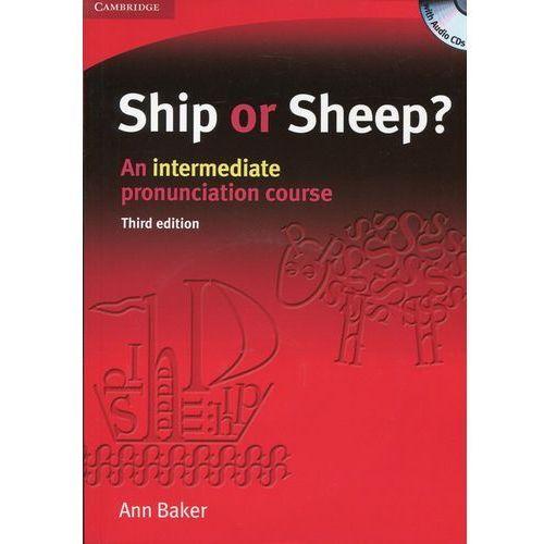 Książki do nauki języka, Ship or Sheep? Third edition, Intermediate, Book and Audio CD (4) Pack (opr. miękka)
