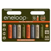 Akumulatorki, 8 x akumulatorki Panasonic Eneloop Tones Expedition R6/AA 2000mAh (blister)